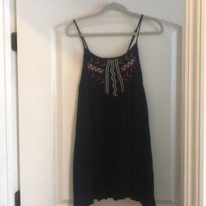 Black B.B. Dakota dress with Aztec print